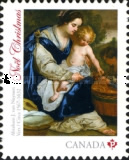 [Christmas - Madonna and Child, Typ DHX]