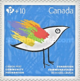 [Community Foundation Fundraising Stamps, Typ DMR]