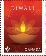 [Diwali - Joint Issue with India, type DOT]