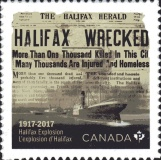 [The 100th Anniversary of the Halifax Explosion, type DPT]