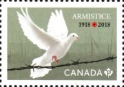 [The 100th Anniversary of the End of World War I - Armistice, type DRW]