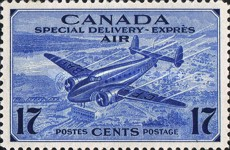 [Airmail Special Delivery, Typ DT1]