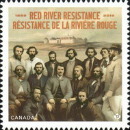 [The 150th Anniversary of the Red River Resistance, type DTX]