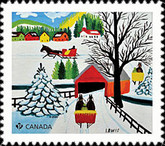 [Holiday - Art by Maud Lewis, 1903-1970, Typ DVH]