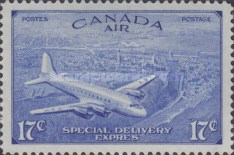 [Airmail - Special Delivery, type EC]
