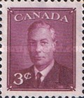 """[King George VI As Previous Without Inscription """"POSTES POSTAGE"""", type EQ]"""