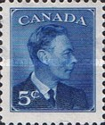 """[King George VI As Previous Without Inscription """"POSTES POSTAGE"""", type ES]"""