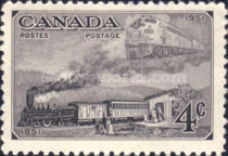 [The 100th Anniversary of Canadian Stamps, type EY]