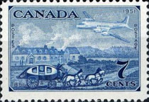 [The 100th Anniversary of Canadian Stamps, type FA]