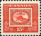 [The 100th Anniversary of Canadian Stamps, type FB]