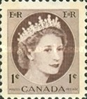 [Queen Elizabeth II - Normal Paper, See 1962 for Fluorescent Stripes, Typ GT]