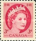 [Queen Elizabeth II - Normal Paper, See 1962 for Fluorescent Stripes, Typ GT2]