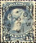 [Queen Victoria - Size: 20 x 24mm, Typ H6]