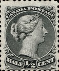 [Queen Victoria - Size: 17 x 21mm, type I]