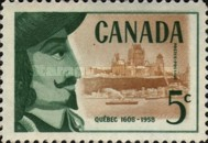 [The 350th Anniversary of Founding of Quebec by Samuel de Champlain, Typ ID]