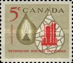 [The 100th Anniversary of the Canadian Oil Industry, Typ IF]