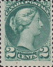 [Queen Victoria - Size: 17 x 21mm, Typ J4]