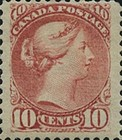 [Queen Victoria - Size: 17 x 21mm, Typ J7]