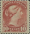 [Queen Victoria - Size: 17 x 21mm, Typ J8]