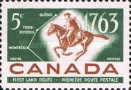 [The 200th Anniversary of Quebec-Trois-Rivieres-Montreal Postal Service, Typ JH]