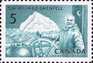 [The 100th Birth Anniversary of Sir Wilfred Grenfell (Missionary), Typ KH]