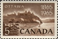 [The 100th Anniversary of Proclamation of Ottawa as Capital, Typ KL]