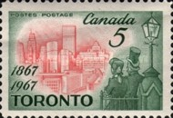 [The 100th Anniversary of Toronto as Capital City of Ontario, Typ LP]