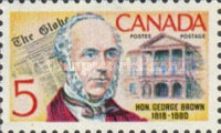 [The 150th Anniversary of the Birth of George Brown - Politician and Journalist, Typ LY]