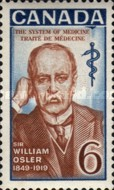 [The 50th Anniversary of the Death of Sir William Osler - Physician, Typ MK]