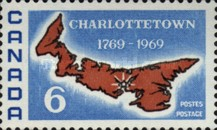 [The 200th Anniversary of Charlottetown as Capital of Prince Edward Island, Typ MO]
