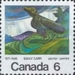 [The 100th Anniversary of the Birth of Emily Carr, Painter, type NW]