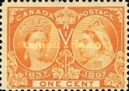 [The 60th Anniversary of the Coronation of Queen Victoria, Typ O1]