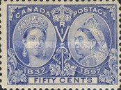 [The 60th Anniversary of the Coronation of Queen Victoria, Typ O10]