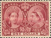 [The 60th Anniversary of the Coronation of Queen Victoria, Typ O11]
