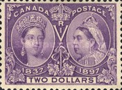 [The 60th Anniversary of the Coronation of Queen Victoria, Typ O12]