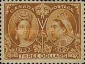 [The 60th Anniversary of the Coronation of Queen Victoria, Typ O13]