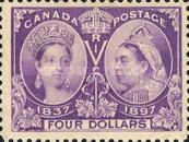 [The 60th Anniversary of the Coronation of Queen Victoria, Typ O14]