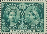 [The 60th Anniversary of the Coronation of Queen Victoria, Typ O2]