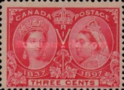 [The 60th Anniversary of the Coronation of Queen Victoria, Typ O3]