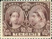 [The 60th Anniversary of the Coronation of Queen Victoria, Typ O7]