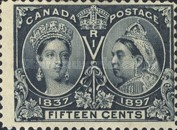 [The 60th Anniversary of the Coronation of Queen Victoria, Typ O8]