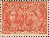 [The 60th Anniversary of the Coronation of Queen Victoria, Typ O9]