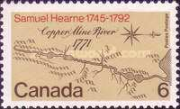 [The 200th Anniversary of Samuel Hearne's Expedition to the Coppermine River, type OB]