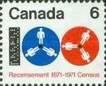 [The 100th Anniversary of the First Canadian Census, Typ OC]