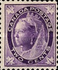 [Queen Victoria - Maple Leaf in Corners, Typ P2]