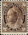 [Queen Victoria - Maple Leaf in Corners, Typ P5]