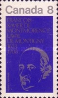 [The 350th Anniversary of the Birth of Monsignor de Laval (1st Bishop of Quebec), Typ PN]