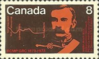 [The 100th Anniversary of the Royal Canadian Mounted Police, Typ PQ]