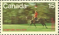 [The 100th Anniversary of the Royal Canadian Mounted Police, Typ PS]