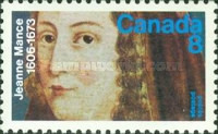 [The 300th Anniversary of the Death of Jeanne Mance, Typ PT]